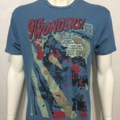NBC Heroes TV Show Series 9th Wonders Medium T-Shirt Comic Book Hiro Comicraft Best Tv Shows, Favorite Tv Shows, Hero Tv Show, Heroes Tv Series, Winning Lotto, 9th Wonder, Heroes Reborn, Nbc Tv, Nerd Geek