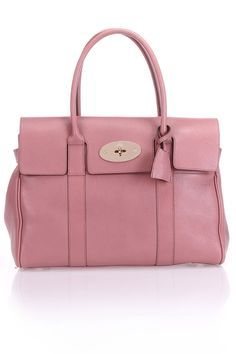 Mulberry Bayswater Glossy Goat Shoulder Bag in Dark Blush - Beyond the Rack