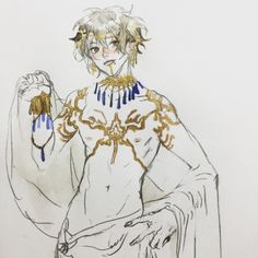 Character Concept, Character Art, Princes Fashion, Achilles And Patroclus, Captive Prince, My Hero Academia Shouto, Dionysus, Character Design Inspiration, Cute Drawings