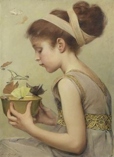 Sarah Paxton Ball Dodson (1847-1906), Honey of the Hymettus.