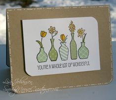Vivid Vases for Sunday Stamps by Alcojo94 - Cards and Paper Crafts at Splitcoaststampers