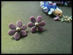 Stud Earrings, Handmade, Jewelry, Hand Made, Jewlery, Jewerly, Stud Earring, Schmuck, Jewels