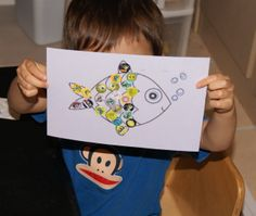 fish  For more pictures look on Face Book Fabulous ideas, projects and activities  Toddler Time Tips https://www.facebook.com/toddlertimetips