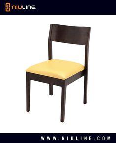 TABITA - Wood Chair, Walnut Finish