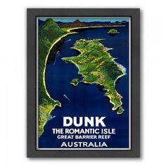 Australia Romantic Isle Print. Where we met! This must adorn our bedroom...