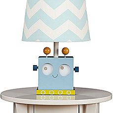 image of Lolli Living™ by Living Textiles Mix & Match Baby Bot Robot Lamp Base