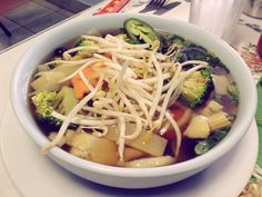 Saigon Express: Vegetable Pho | #veggieangie