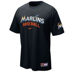Miami Marlins Practice T-Shirt by Nike