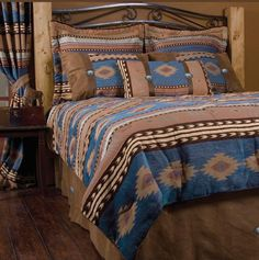 Southwestern Bedding Atlantic Linens Style Bedroom