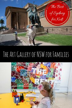 The Art Gallery of NSW for Families via christineknight. Travel Tips, Travel Stuff, Travel Ideas, Travel Destinations, Sydney For Kids, Travel With Kids, Family Travel, Backpacking Europe Tips, Art Activities