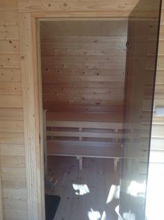 W pełni wyposażona Sauna / Ruska Bania 3x4m z prysznicem i WC