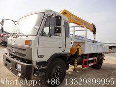 Chengli Special Automobile Co., Ltd.: 8ton truck with crane for sale