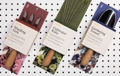 Bonafide Garden Tools (Student Project) on Packaging of the World - Creative Package Design Gallery Best Garden Tools, Garden Power Tools, Garden Tool Shed, Garden Tool Storage, Gardening Tools, Organic Gardening, Storage Sheds, Garden Cultivator, Garden Yard Ideas