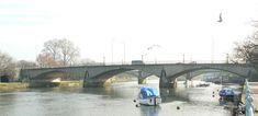 Twickenham Bridge  Wikipedia River Thames, Bridges, Boats, Ships, Boat, Ship