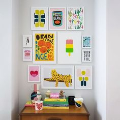 6536f491edaed5 Gorgeous, colourful eye catching wall art makes a fabulous talking point in  the home plus