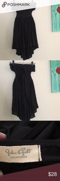 Strapless Brandy Melville dress Had it for a while and only worn once. Brandy Melville Dresses Mini