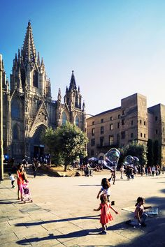 Barcelona Cathedral, Around The Worlds, Street View, Explore, Building, Travel, Viajes, Buildings, Destinations