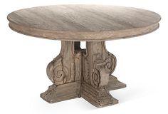 """Hayes 54.5"""" Round Dining Table on OneKingsLane.com"""