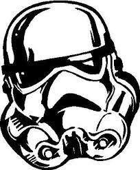 Stormtrooper Helmet Silhouette : stormtrooper, helmet, silhouette, Stormtrooper, Outlines, Ideas, Stormtrooper,, Helmet,