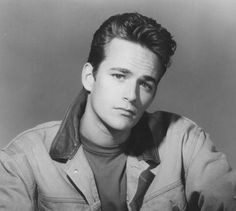 Luke Perry as Dylan McKay on Beverly Hills, 90210 was the dream guy for many GenX women in the Perry died March after suffering a massive stroke. Ricky Nelson, Beverly Hills 90210, Luke Perry Young, Luke Perry 90210, Quentin Tarantino, Call My Friend, Shannen Doherty, Hollywood, Beautiful Men