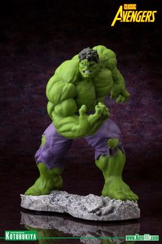 #Hulk #Fan #Art. (COMICS HULK CLASSIC AVENGERS FINE ART STATUE) By: Marvel. ÅWESOMENESS!!!™ ÅÅÅ+