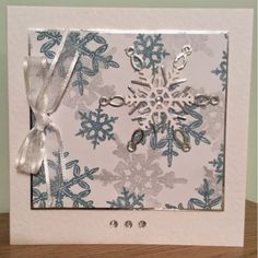Cards by Brawny: Snowflakes