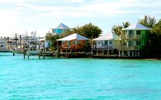 Staniel Cay Yacht Club - they give you a boat to use. ocean swimming pigs. good food.