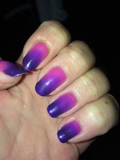 Love the colour change