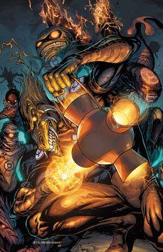Orange Lantern Corps | #comics