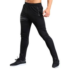 Mens Summer Fitness Sport Trousers Casual Slim Fit Pencil Pants