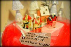 Décoration Noël réalisé par les résidents accompagné du personnel soignant, résidence étoile du matin EHPAD