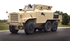 The Bull mine resistant ambush protected vehicle was developed in response to the US military requirement. This vehicle has a V-shaped hull, which do not extends into the engine compartment. Army Vehicles, Armored Vehicles, Zombie Assault, Zombie Survival Gear, Best Zombie, Armored Truck, Bug Out Vehicle, Jeep Models, Battle Tank