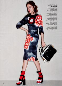 US GLAMOUR MARCH 2013 Coco Rocha by Patrick Demarchelier