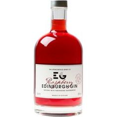 Edinburgh Gin Raspberry Infused It is made from the award winning Edinburgh Gin infused with the finest Perthshire Raspberries and pure cane sugar. Perfect over ice or with Champagne, Cava, Prosecco, Soda Water or Lemonade. Brilliant in all cocktails.