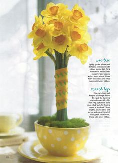 Make your own Daffodil-tree! Karin Lidbeck Brent