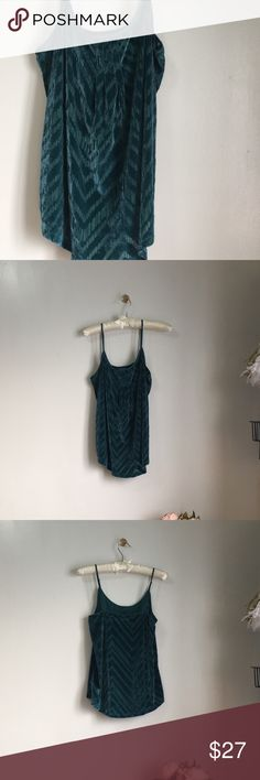 Lucky brand jasper teal velvet cami Pretty top in velvet teal  Preowned , very gently used . Excellent condition  - adjustable straps  Fabric & Care POLY BLEND Turn Garment Inside Out  Machine Wash Cold With Like Colors Delicate Cycle Tumble Dry Low Cool Iron Lucky Brand Tops Tank Tops