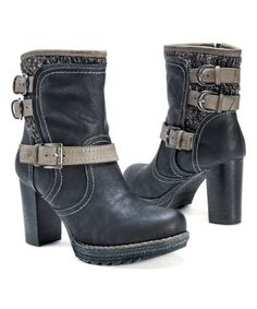 Another great find on #zulily! Black Mariah Boot - Women #zulilyfinds