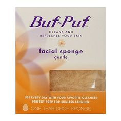 BufPuf Gentle Facial Sponge 1 Each Pack of 6 *** Want additional info? Click on the image.