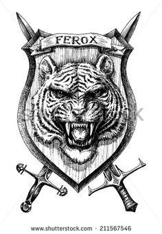 Tiger Face Stock Vectors & Vector Clip Art | Shutterstock