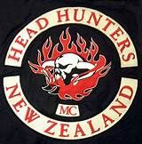 Three Head Hunters gang members have been sentenced to community detention for charges connected to laid in the wake of the kidnapping and extorting property from a wealthy businessman at Rotorua and Taupo. Biker Clubs, Motorcycle Clubs, Outlaws Motorcycle Club, Head Hunter, Mongrel, Hells Angels, Cut And Color, Red And White, Viajes