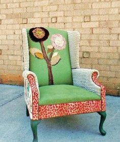 Archived chair collection - Happy Chair by Shawna Robinson