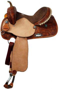 Western Saddle Breastcollar Pistol Annie Shooter Brown Alligator Overlay