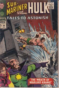Tales to Astonish 86  December 1966  Marvel Comics  Grade