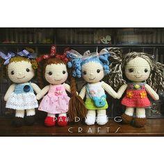 #น้องมะลิ#crochetdoll#myhandmade #cute
