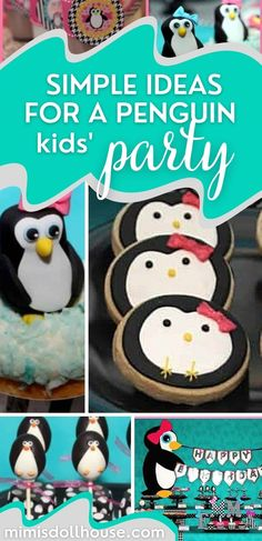 Throwing a penguin party for your little one. This penguin themed party is full of penguin treats and penguin party decorations and penguin party printables. Check it out! #penguin #parties #winter #girlparty #birthday #kidbirthday #kidbirthdays #birthdays #partyideas #diy #crafts