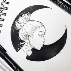 A alma da lua