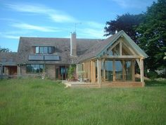 designs for chalet bungalows Bungalow Extensions, Garden Room Extensions, House Extensions, Barn Conversion Exterior, Bungalow Conversion, House Extension Design, House Design, Extension Ideas, Bungalows