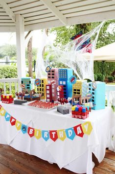 Spiderman Birthday Party Ideas   Photo 4 of 19