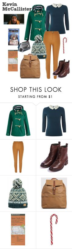 """""""Kevin McCallister - Home Alone 2"""" by ashleigh-kuzio on Polyvore featuring White Stuff, River Island and Barbour"""