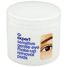 BOOTS Expert Sensitive Gentle Eye Make-Up Removal Pads *** You can get more details here   Eye Makeup Ideas